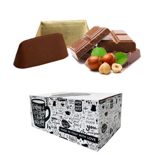 Box 16 capsule Gimoka gusto Gianduja compatibili Dolce Gusto